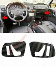 W463 Carbon Side Interior Door Panels Buttons Covers Mercedes-Benz G-Class