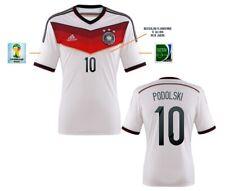 Trikot Adidas DFB WM 2014 Home Finale - Podolski 10 I Deutschland Badge