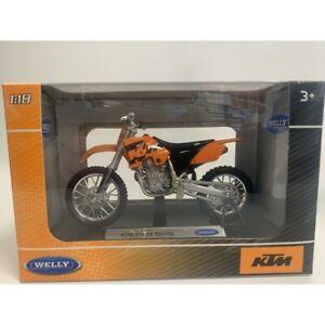 KTM 450 SX RACING 1/18 WELLY BOITE NEUVE