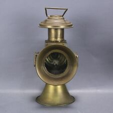 Ancienne lanterne lampe en laiton