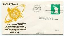 1969 Pioneer-10 Cape Kennedy Florida Experimental Satellite Canaveral Cancel USA