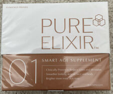 Pure Elixir: 01 Smart Age Supplement: 30 Capsules BRAND NEW & Sealed
