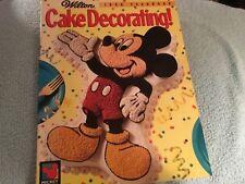 Wilton Cake Decorating 1996 Yearbook Magazine Mickey Mouse Disney 90s Patterns