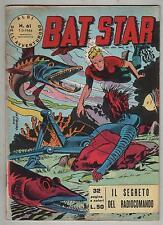 BAT STAR albi dell'avventuroso N.61 IL SEGRETO DEL RADIOCOMANDO brick bradford