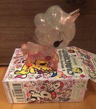 """SDCC 2020 Tokidoki Con Unicorno Metallico Series 5 Rosa Latte 3"""" Vinyl Figure"""