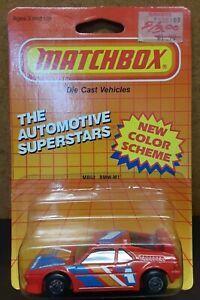 1987 Matchbox 1:57 Scale The Automotive Superstars • BMW M1 [MB52]