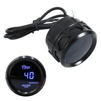 "2"" 52mm Digital LED Auto Temperatura agua coche Medidor Termómetro Indicadores"