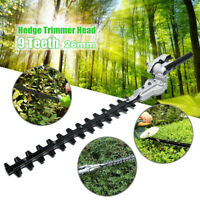 Hedge Trimmer Attachment For Petrol Power Head Brush Cutter Lawn Mower 7/9Spline