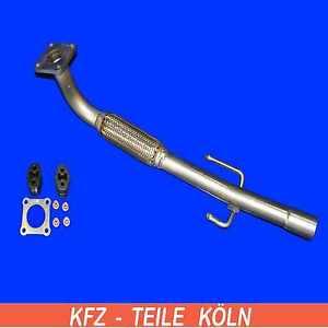 Seat Arosa VW Lupo / Polo - 1.0 / 1.4 - Katalysator-Reparaturrohr + MontageSet