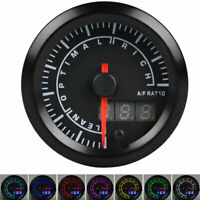 "2"" 52mm Air Fuel Ratio Gauge Narrowband Digital Pointer LED Monitor Racing Gauge"