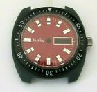 husky, case Plastic scratch resident and WATERPROOF with dial husky NOS SwissMa