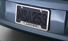 New OEM Mitsubishi Lancer License Plate Frame