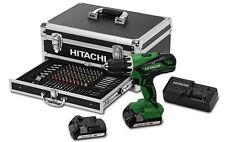 Trapano avvitatore a batteria percussione + kit 18V 1,5Ah HITACHI mod.DV18DJL