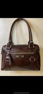 Vintage Etienne Aigner Genuine Leather Burgandy Purse Handbag