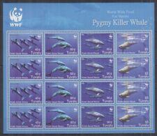 W442. Tuvalu - MNH - Marine Life - Whales - WWF - Full Sheet