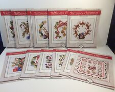 Baltimore Christmas Block of the Month Pattern Pearl P. Pereira Set of 13