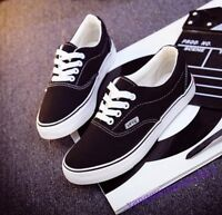 New Fashion Sneakers Mens Shoes Canvas Lace Up Sport Casual Comfort Breathable 8