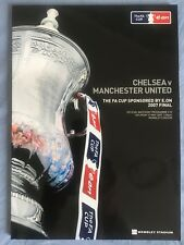 FA CUP FINAL PROGRAMME 2007 - CHELSEA v MANCHESTER UTD