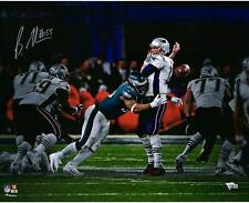9099e641f1f Brandon Graham Eagles Signed 16x20 Sack Fumble Super Bowl LII Champs Photo