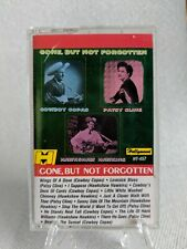 GONE BUT NOT FORGOTTEN Patsy Cline Cowboy Copas cassette - tested, great copy!