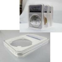High Quality Transparent  Coin Slab Holder (38mm) Display Case Organizer Case