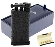 IM Corona Old Boy Messing schwarz matt Pfeifen Feuerzeug 64-9525 Made in Japan