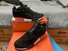 Adidas NMD TS1 PK GTX Primeknit Gore-Tex Black Red Sneaker BD8078 Men's Size 10