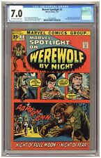 Marvel Spotlight #2 (CGC 7.0) Origin/1st appearance of Werewolf by Night B962