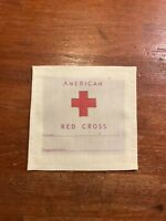 WWI American Red Cross Comfort Ditty Bag Label Army, Marines, Navy