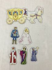 Fairytale Refrigerator Magnet Cinderella Prince Godmother Carriage King Queen