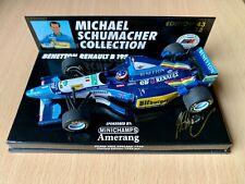 F1 1/43 Minichamps Michael Schumacher Benetton Renault B195 England #18