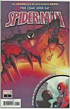 "Spider-Man #1 FCBD Edition ""The Venom Epic of 2019"" Marvel UNREAD"