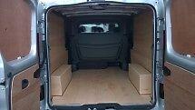Vauxhall Vivaro LWB CREW / DOUBLE CAB 2014 onwards Van Ply Lining Kit