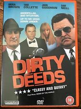 Bryan Brown Sam Worthington Neill DIRTY DEEDS 2002 Australian Crime Film UK DVD