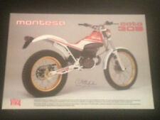 MONTESA COTA 309 335 TRIAL MOTORCYCLE BROCHURE PROSPEKT CATALOGO CATALOGUE