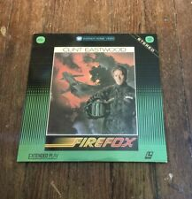 RARE LASERDISC firefox CLINT EASTWOOD extended play VG+