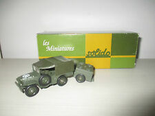 CAMION DODGE 4X4 US N°16 SOLIDO SCALA 1:50