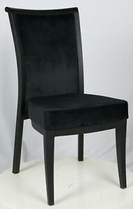 10 Dining style poker chairs, very comfortable with black seat & black legs