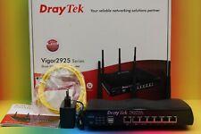 DRAYTEK Vigor 2925ac Funk 1300 Mbps Router Gigabit Dual WAN wireless UMTS Switch