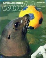 National Geographic World Magazine 1986 September