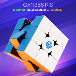 GAN 356 R S Speed Cube Gans 356R Stickerless Gan356 RS 3x3x3 Speedcube GES V3