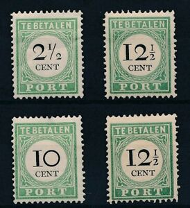 [35018] Curacao Good lot postage due stamps Very Fine MH
