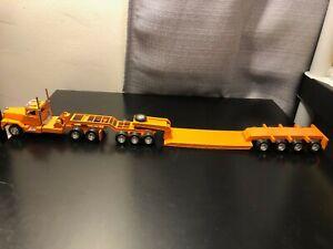 ASAM Smith Mack 3 Axle Tractor w/ 4 Axle Lowboy Trailer - Hand Built Model!!