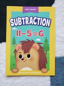 New Sealed First 1st Grade Subtraction Educational Workbook Homeschool Activity