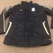"Liverpool FC Football Club Coat Jacket Padded 44/46"" black"