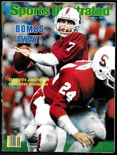 1982 Sports Illustrated  JOHN ELWAY  Stanford   1ST COVER    NO LABEL  Excellent