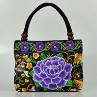 Vintage Women Embroidered Ethnic Style Bag Lady Clutch Handbag Wallet Pouch
