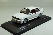 BMW M3 (E30) 1987 White 1:43 Minichamps 430020304