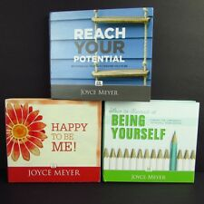 Joyce Meyer Lot 3 Christian Teaching CD Sets Being Yourself Potential Happy