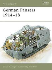 Osprey New Vanguard 127: German Panzers 1914-1918 A7V Panzer 1. Weltkrieg / NEU
